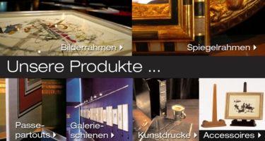 Bilderrahmen Wien - Produkte