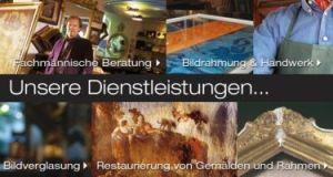 Bilderrahmen Wien - Dienstleistungen